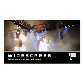 Widescreen 118 Lighting Array II Business Card Templates