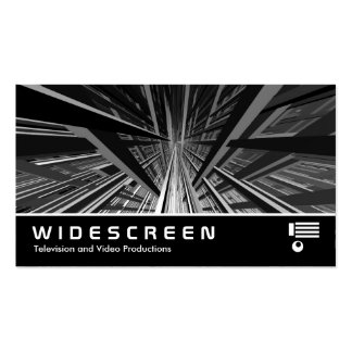Widescreen 203 - Extreme Perspective II Business Card Templates