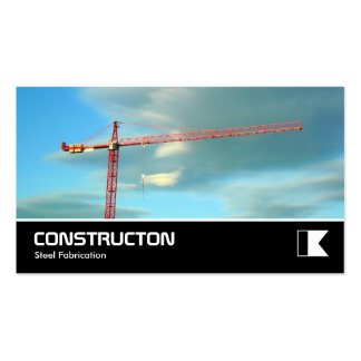 Widescreen 335 - Red Crane Double-Sided Standard Business Cards (Pack Of 100)