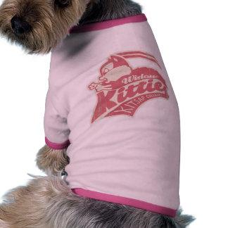 Widow Kitties Team Logo Pet Clothing