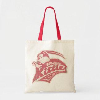 Widow Kitties Team Logo Tote Bags