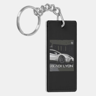 widow project to car preparation black Lyons Key Ring