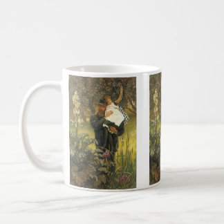 Widower by Tissot, Vintage Victorian Portrait Art Coffee Mug