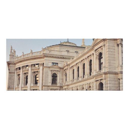 Wien architecture rack card design