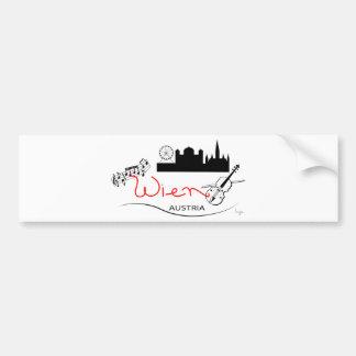 Wien, Austria - Österreich Bumper Sticker