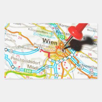 Wien, Vienna, Austria Rectangular Sticker