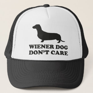 Wiener Dog Don't Care Trucker Hat