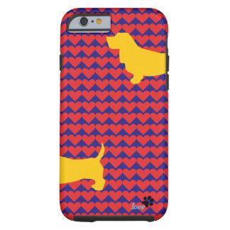 Wiener Dog love Tough iPhone 6 Case