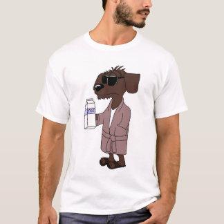 Wiener milky Dog T-Shirt