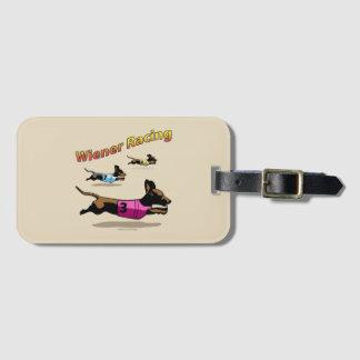 Wiener Racing Luggage Tag
