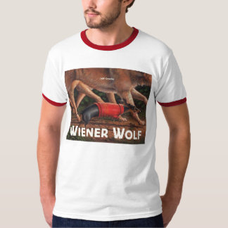 Wiener Wolf men's color collar shirt