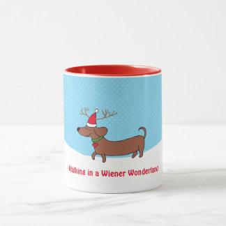 Wiener Wonderland  11 oz Combo Mug