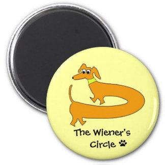 Wieners Circle 6 Cm Round Magnet