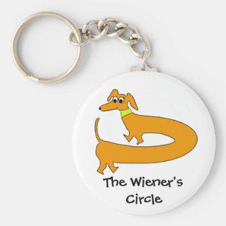 Wieners Circle Key Chains