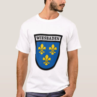Wiesbaden Coat of Arms (Wappen) 0010 T-Shirt