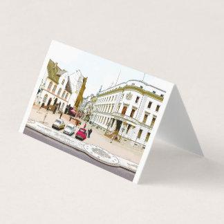 Wiesbaden, market place, Street view - Germany Card