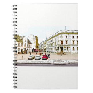 Wiesbaden, market place, Street view - Germany Notebooks