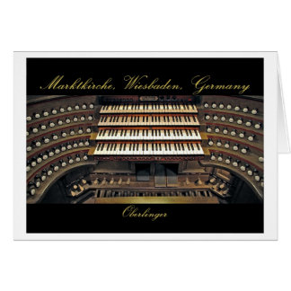 Wiesbaden organ card