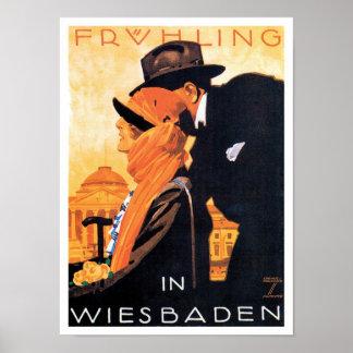 Wiesbaden Travel Poster