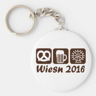 Wiesn Oktoberfest 2016 Basic Round Button Key Ring