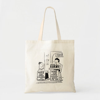 Wife and 3 Children to Support Tote Bag
