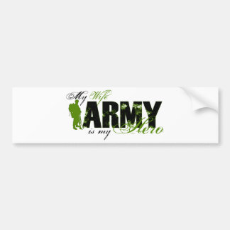 Wife Combat Boots Army Bumper Sticker