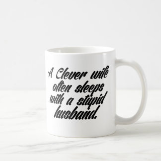 Wife & Husband Quote Coffee Mug