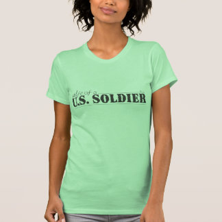 Wife of a U.S. Soldier T-shirts
