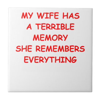 WIFE SMALL SQUARE TILE
