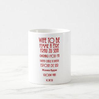 Wife To Be Basic White Mug