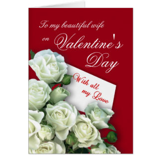 Wife Valentine's Day Card