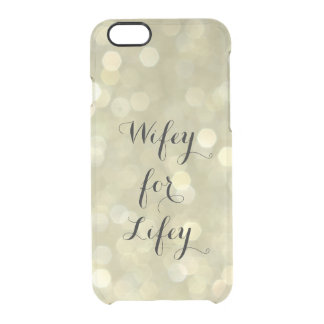 Wifey for Lifey Gold iPhone 6/6s Case