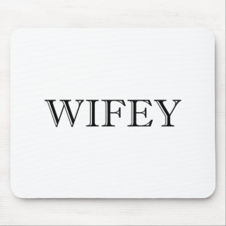 Wifey Married Couple Mouse Pad
