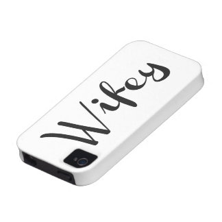 Wifey - Newlywed Funny iPhone 4 Cases
