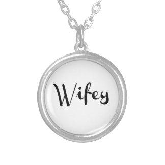 Wifey - Newlywed Funny Jewelry