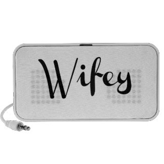 Wifey - Newlywed Funny PC Speakers