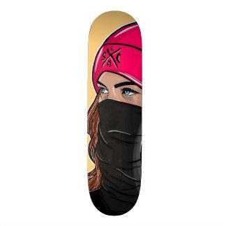 """""""Wifey"""" skateboard deck tan"""
