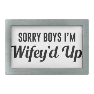 Wifey'd Up Belt Buckles