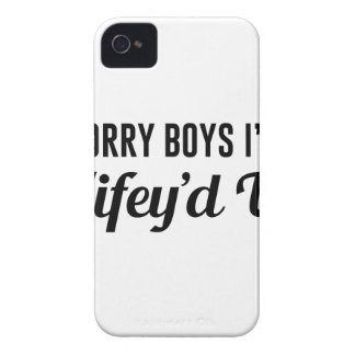 Wifey'd Up iPhone 4 Case