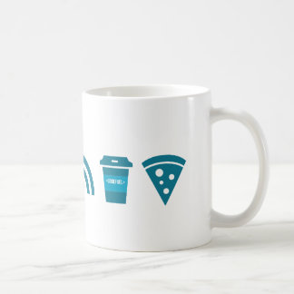 Wifi-Coffee-Pizza Coffee Mug