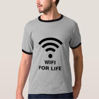 WIFI FOR LIFE Men's Basic Ringer T-Shirt