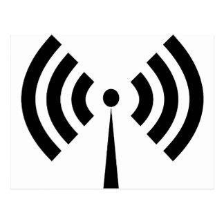 Wifi Signal Postcard