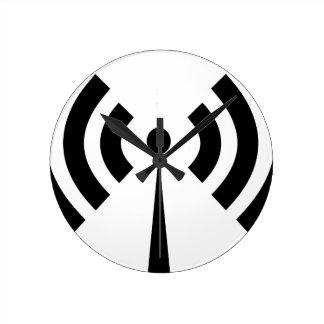 Wifi Signal Round Clock
