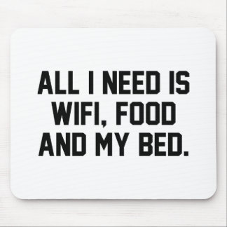 WifiFoodBed1A Mouse Pad