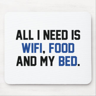 WifiFoodBed1C Mouse Pad