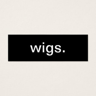 Wig Business Card