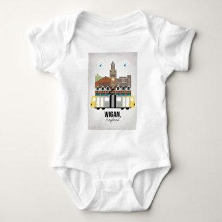 Wigan Baby Bodysuit
