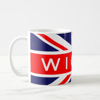 Wigan : British Flag Coffee Mug