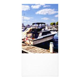 Wiggins Park Marina Customized Photo Card