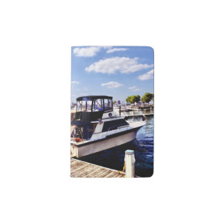 Wiggins Park Marina Pocket Moleskine Notebook